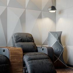Pira Panel B White Lacquer Matte | Systèmes muraux absorption acoustique | Mikodam