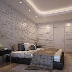 Sapa Panel White Lacquer Matte | Sound absorbing wall systems | Mikodam