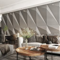 Tora Panel Grey Lacquer Matte   Sound absorbing wall systems   Mikodam
