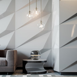 Tora Panel White Lacquer Matte | Sound absorbing wall systems | Mikodam