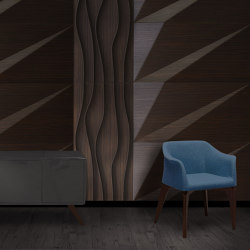 Vata Panel Walnut | Wood panels | Mikodam