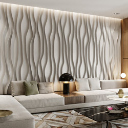 Vata Panel White Lacquer Matte | Sound absorbing wall systems | Mikodam