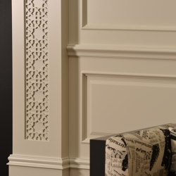 Zaga Column Mix Lacquer White Matte | Sound absorbing wall systems | Mikodam