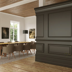Zaga Panel Anthracite Lacquer Matte | Sound absorbing wall systems | Mikodam
