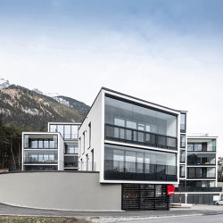 Glass parapet | SL Modular thermally insulated | Window types | Solarlux