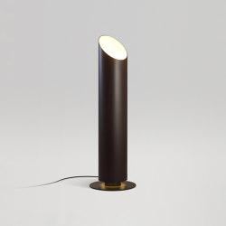 Elipse P 79 Brown | Éclairage sol extérieur | Marset