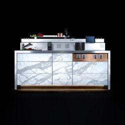 C2 | Compact kitchens | Marrone + Mesubim