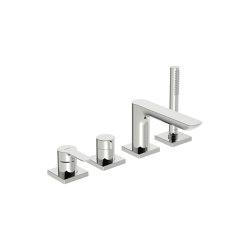 HANSALIGNA | Cover part for bath and shower faucet, 75x75 mm | Shower controls | HANSA Armaturen