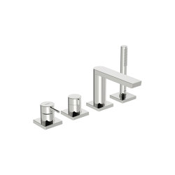 HANSASTELA | Cover part for bath and shower faucet, 75x75 mm | Shower controls | HANSA Armaturen