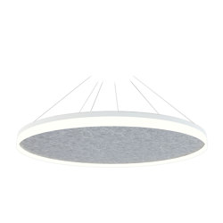 Acoustic Circulo 120 Light Grey | Suspended lights | Valaisin Grönlund