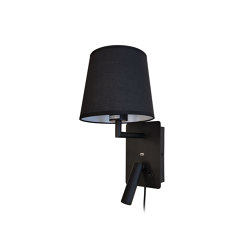 Denver USB Black Wall Light | Smart phone / Tablet docking stations | Valaisin Grönlund