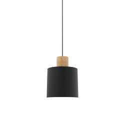 Log 20 Pendant Light Black   Suspended lights   Valaisin Grönlund