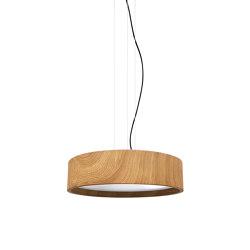 Oak 50 Led Matt White Pendant Light | Suspended lights | Valaisin Grönlund