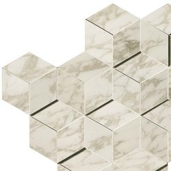 Marvel Royal Calacatta Mosaico 3D | Ceramic tiles | Atlas Concorde