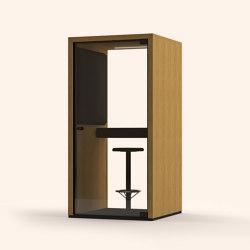 Lohko Box 1 Oak | Telephone booths | Taiga Concept
