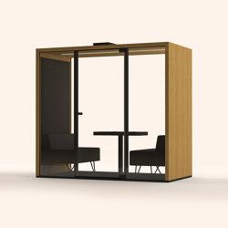 Lohko Box 2 Oak | Office Pods | Taiga Concept