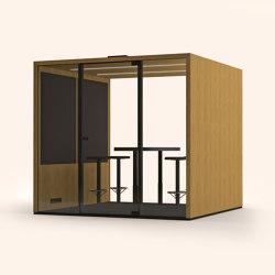 Lohko Box 5 Oak | Office Pods | Taiga Concept
