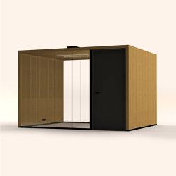Lohko Flex 10 Oak | Office Pods | Taiga Concept