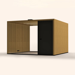 Lohko Flex 12 Oak | Office Pods | Taiga Concept