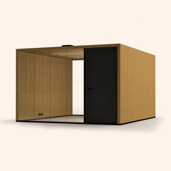Lohko Flex 14 Oak | Office Pods | Taiga Concept