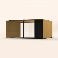 Lohko Flex 21 Oak | Office Pods | Taiga Concept
