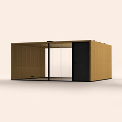 Lohko Flex 25 Oak | Office Pods | Taiga Concept