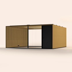 Lohko Flex 28 Oak | Office Pods | Taiga Concept