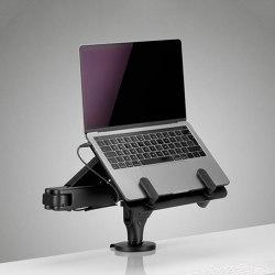 Ollin Laptop & Tablet Mount | Accessoires de table | Colebrook Bosson Saunders