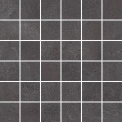 MILESTONE anthracite 5x5/06 | Ceramic mosaics | Ceramic District