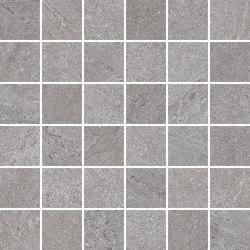 ROCKFORD gris 5x5 | Mosaïques céramique | Ceramic District