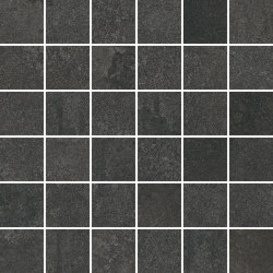 TECNO SCORE anthracite 5x5 | Ceramic mosaics | Ceramic District