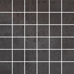THINACTIVE carbon 5x5 | Ceramic mosaics | Ceramic District