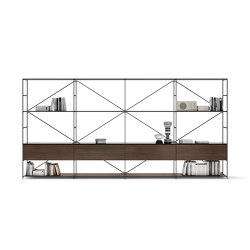 R.I.G. Modules Living | Shelving | De Padova