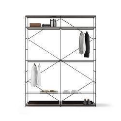 R.I.G. Modules Wardrobe | Estantería | De Padova