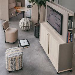 Soporte para televisión para Moving Wall Media | Soportes multimedia | Götessons