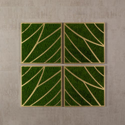 Wall moss, brass | Sound absorbing objects | Götessons