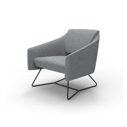 DNA Lounge Chair with Sled Base | Sillones | Boss Design