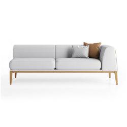 Maysa Large Modular Sofa - Left Hand Side | Sofas | Boss Design