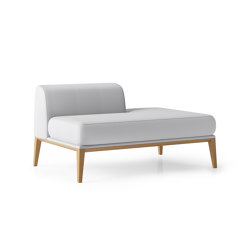 Maysa Chaise - Right Hand Side | Recamieres | Boss Design