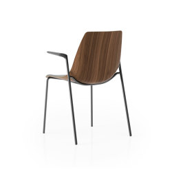 Ola 4 Leg With Arms | Chairs | Boss Design