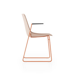 Ola Sled Base WIth Arms | Chairs | Boss Design