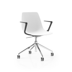 Ola 4 Star Height Adjustable Tilt with Z Arms | Chairs | Boss Design