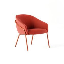 Paloma Lounge Chair - 4 Leg   Fauteuils   Boss Design