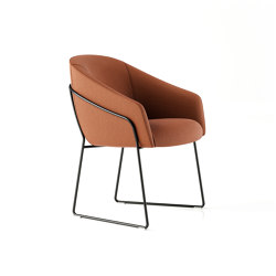 Paloma Meeting Chair - Sled Base | Stühle | Boss Design