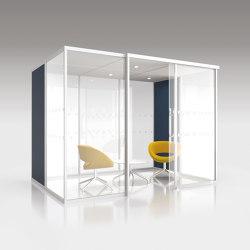 Qube Duo | Office Pods | Boss Design