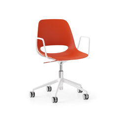 Saint 5 Star Height Adjustable with Tilt and Loop Arm, Upholstered Seat   Chairs   Boss Design