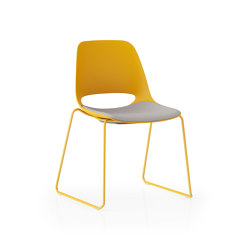 Saint Sled Base   Chairs   Boss Design