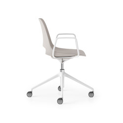 Saint 4 Star Height Adjustable with Tilt and Loop Arms | Chairs | Boss Design