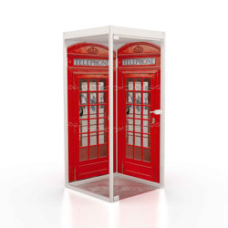Telephone pod 3 | Telephone booths | Boss Design