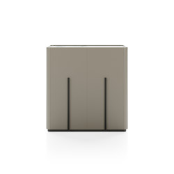 Caillou High Cupboard Ground Base | Sideboards | Liu Jo Living